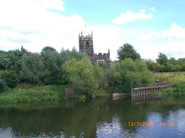 St Wilfred's Church Wilford from RiverTrent.