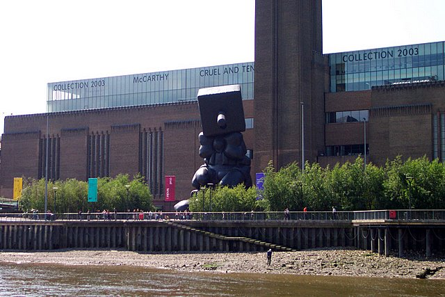 Tate Modern from the river