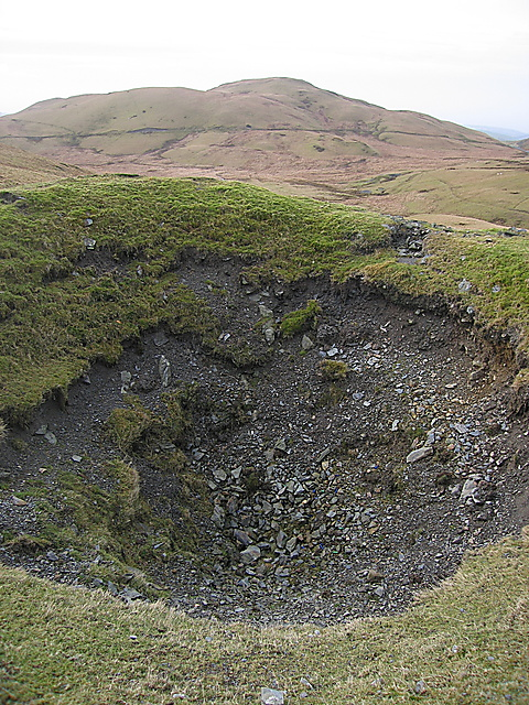 Esgair Hir mine shaft