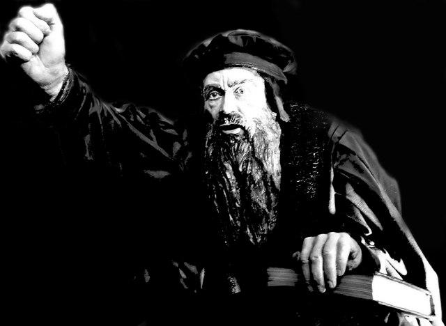 John Knox In Full Flow