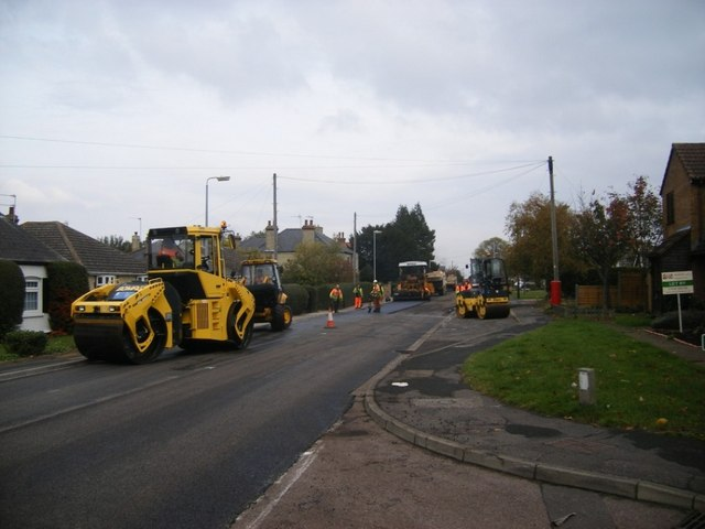 Resurfacing Ness Road