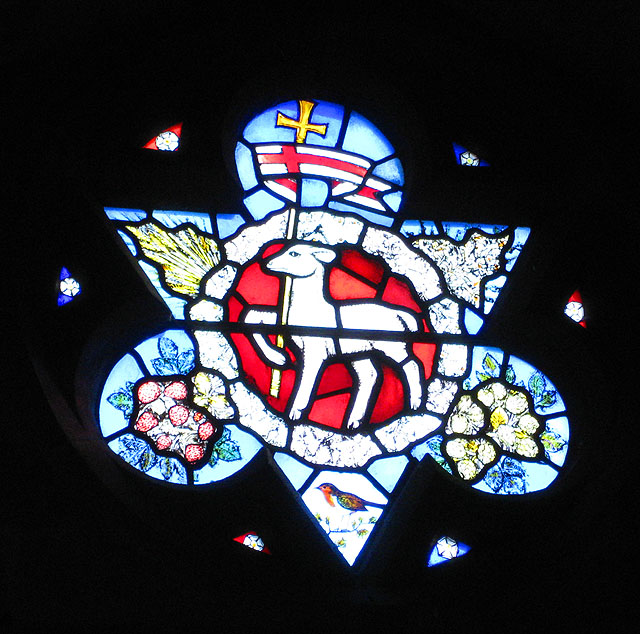 Chancel window, St Mary's, Burghill