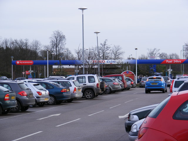 Tesco Extra Petrol Filling Station
