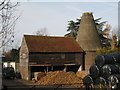 TQ5337 : Unconverted Oast House at Florence Farm, Withyham Road, Groombridge, East Sussex by Oast House Archive
