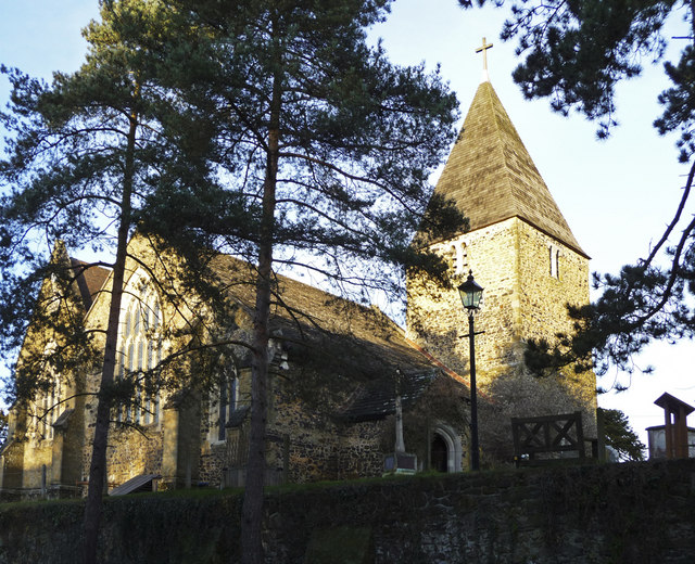 St Peter's Church, Limpsfield, Surrey
