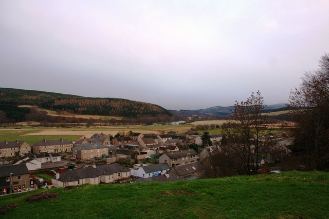 Rothes from the castle mound