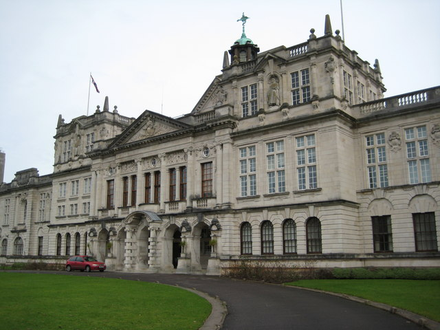 Glamorgan Building Cardiff University Map