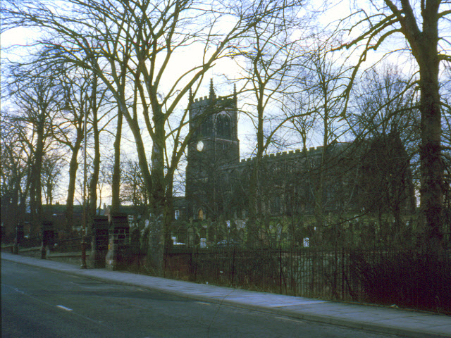 St Mary's church, Sandbach