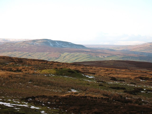 Moorland at Bleaberry Hill