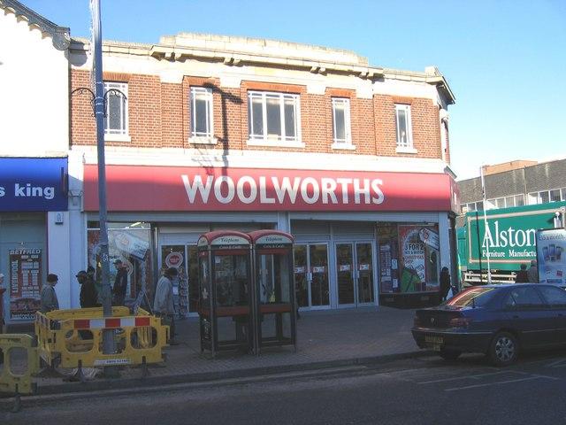 Woolworths Erdington.