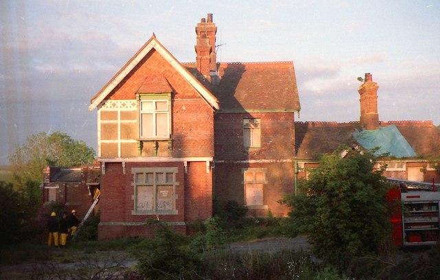 Old Lavant Station.