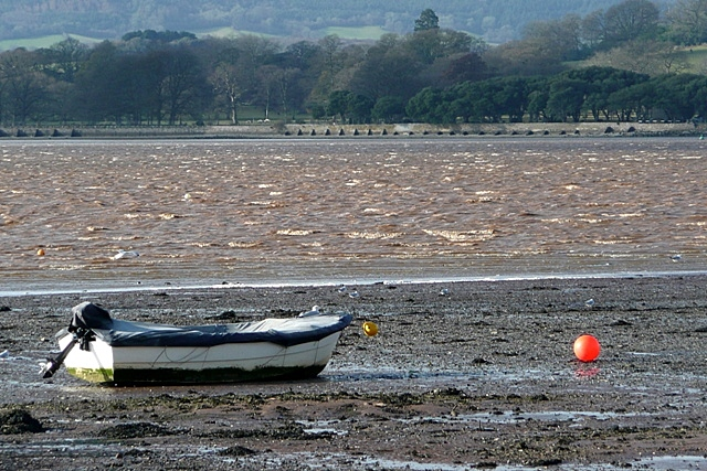 Lympstone at low tide