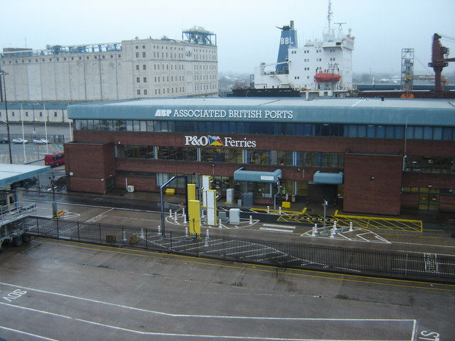 Ferry terminal building martin dawes geograph britain and ireland - Where is zeebrugge ferry port ...