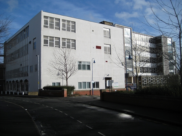 Wakefield College from Newstead Road