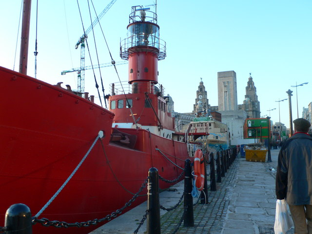 Lightship in Liverpool Dockland