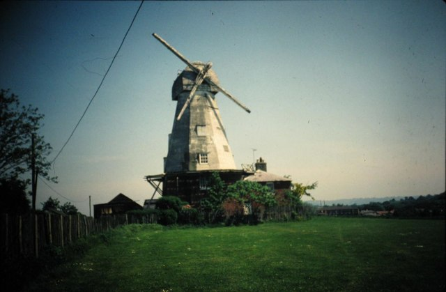 Willesborough Windmill 1982