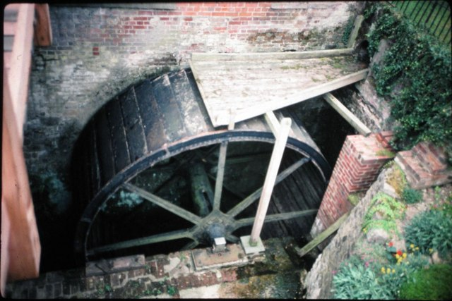 Brattle Mill, Wateringbury - waterwheel
