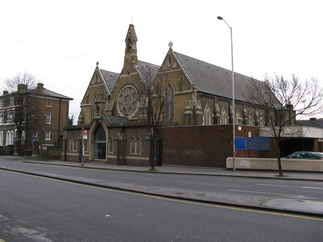St. Mary's Roman Catholic Church, Wellesey Road, West Croydon