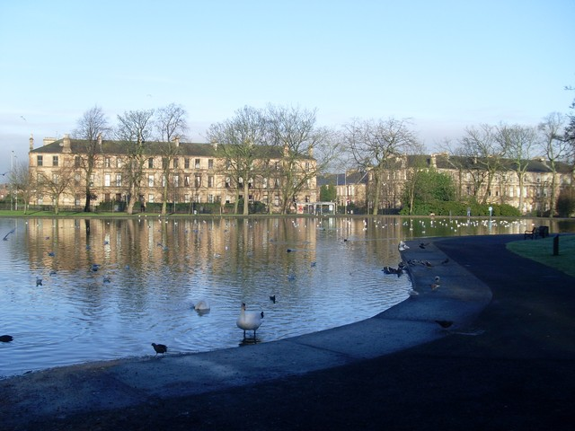 Duck pond in Queen's Park