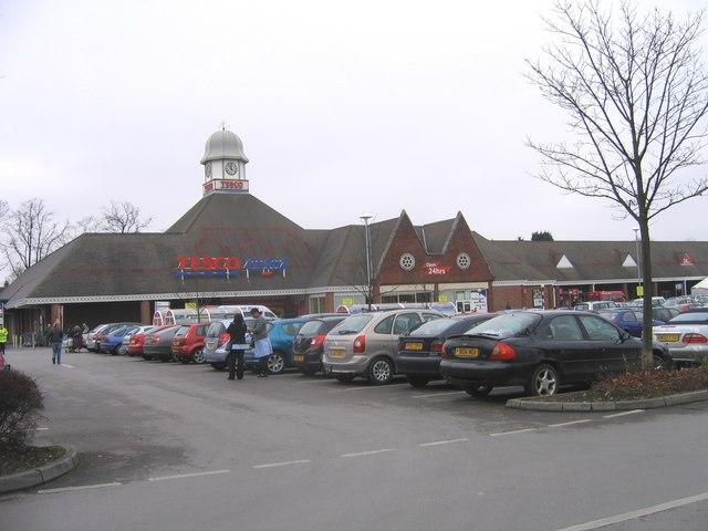 Tesco Extra Superstore, New Oscott