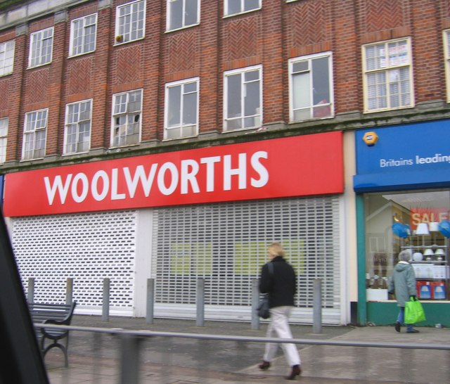 Closed Woolworths, Hawthorne Road Kingstanding