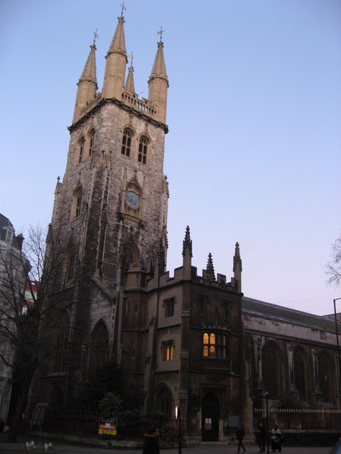 The Church of St. Sepulchre-without-Newgate, Holborn Viaduct, EC1 (2)