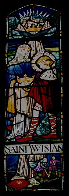 Saint Wistan - in life, in death - in glass ...