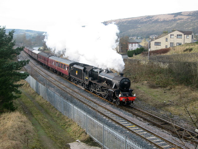 The Lancashire Fusilier on the Main Line