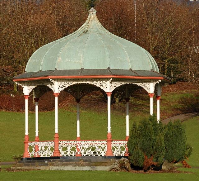 Bandstand in Dunfermline Public Park