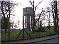 TM1443 : Stonelodge Water Tower by Adrian Cable