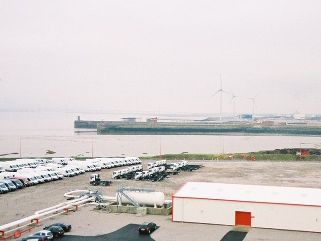 Entrance to Avonmouth Docks
