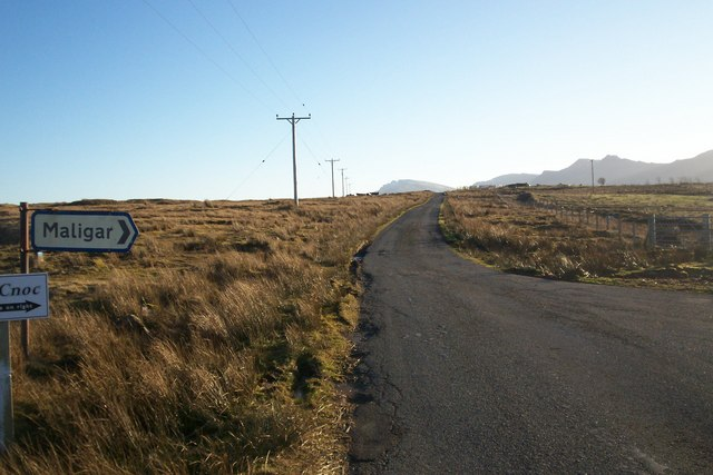 Road to Marishader at Maligar junction