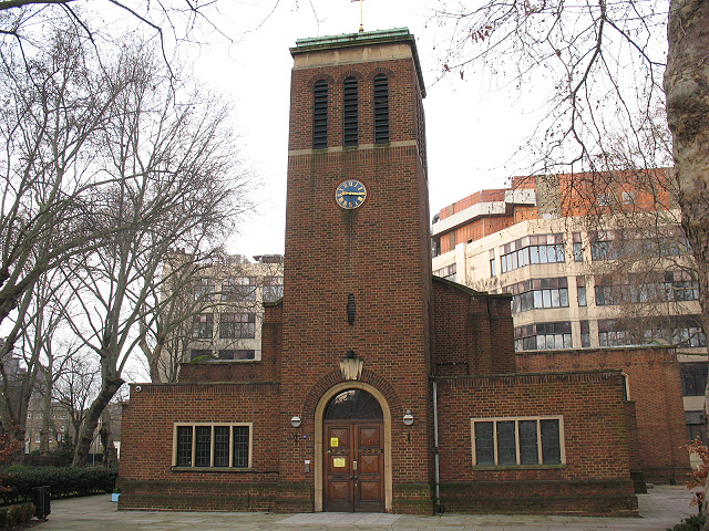 Christ Church, Southwark: front view