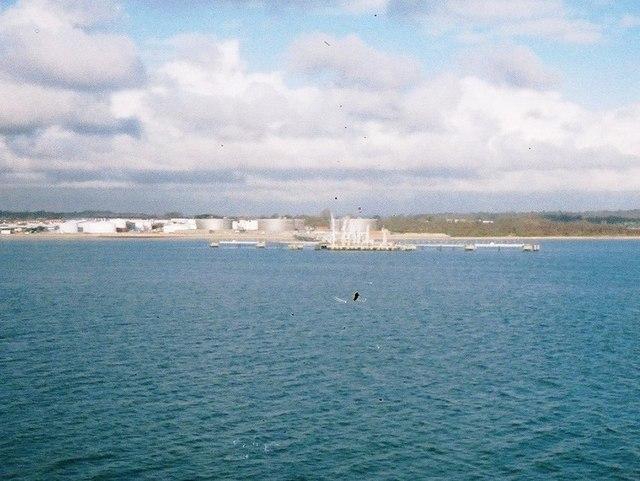 BP Hamble oil terminal