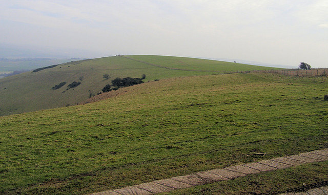 Iford Hill from Swanborough Hill