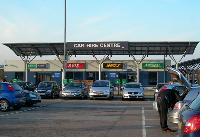 Alamo Car Hire Birmingham Airport
