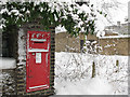TQ3977 : Victorian postbox, St John's Park, Blackheath by Stephen Craven