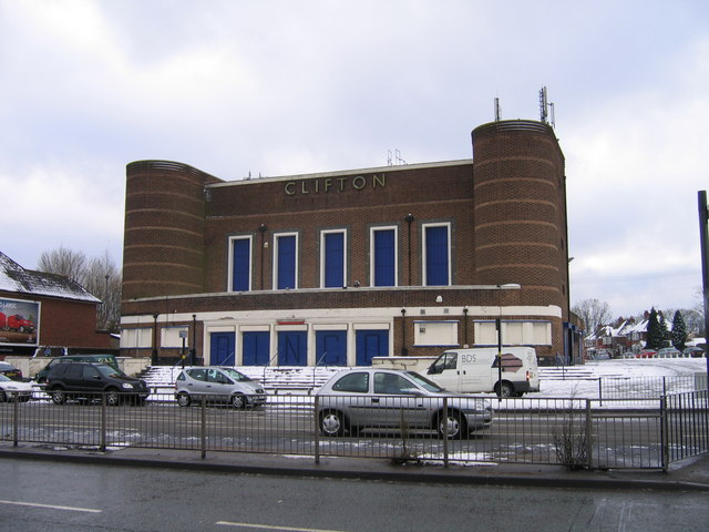 Clifton Bingo  Ex-Clifton Cinema Perry Barr.