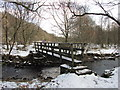 SD6915 : Footbridge over Eagley Brook : Week 5