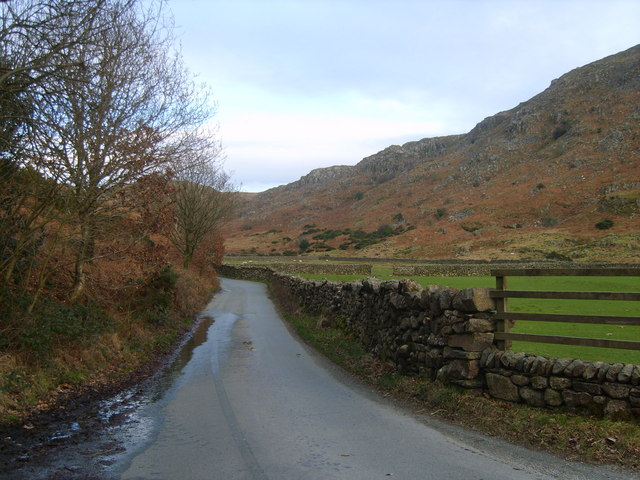 Road to Birker Fell