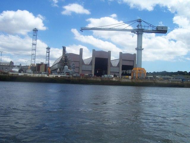 Plymouth Devonport Naval Dockyard 169 Lewis Clarke