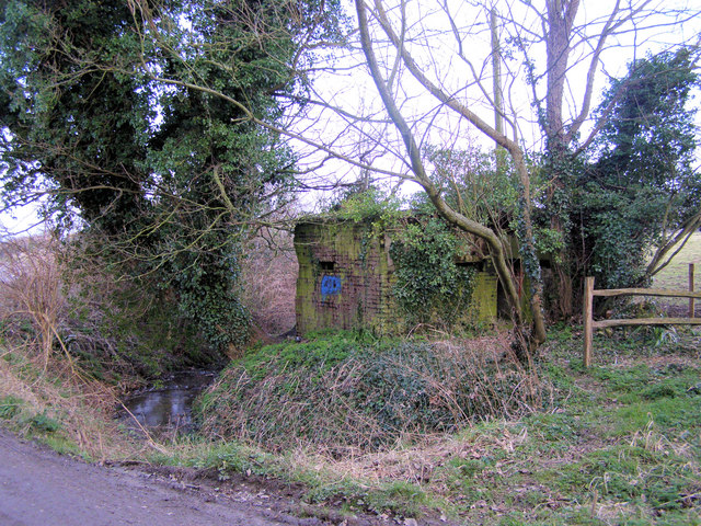 Pill Box at Rodmell