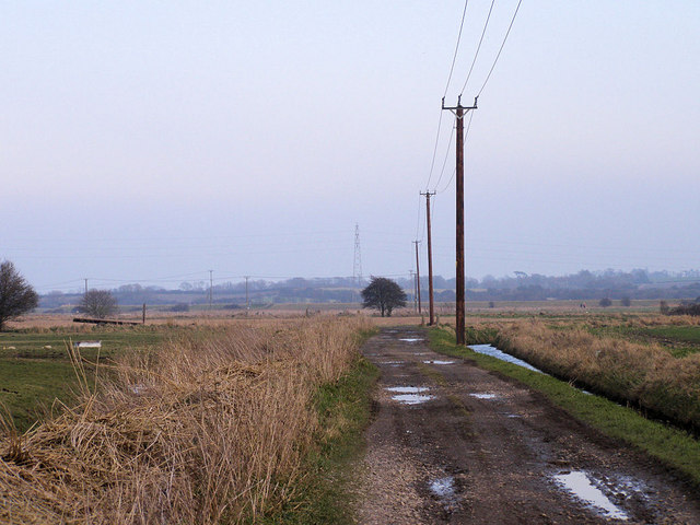 Track to the River Ouse from Rodmell