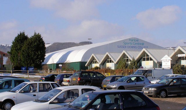 Harlow Sports Centre, Sussex Downs College, Eastbourne