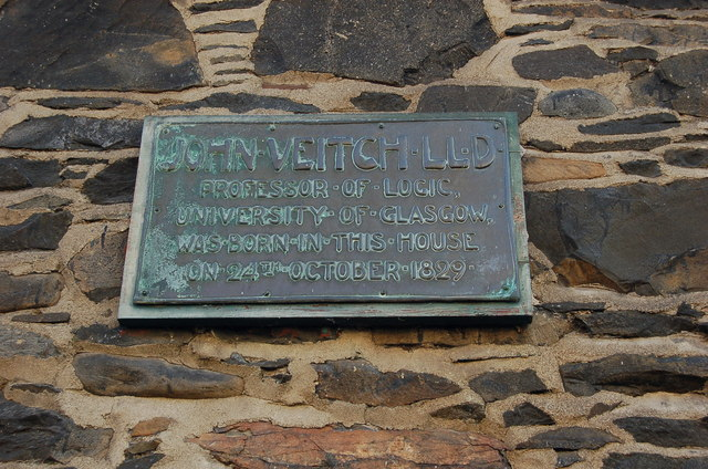 Plaque to Professor John Veitch