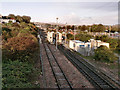 SX5055 : Embankment Road tracks, Plymouth by Mick Lobb