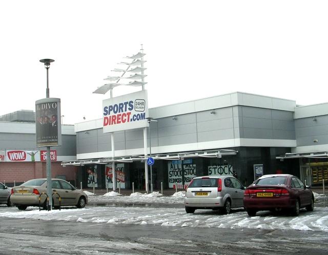 Sports Direct - Birstall Retail Park © Betty Longbottom cc ...