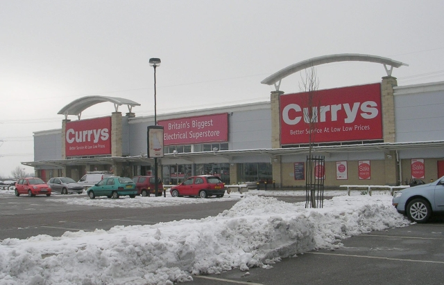 Going out of town a new combined Currys and PC World Megastore has opened at