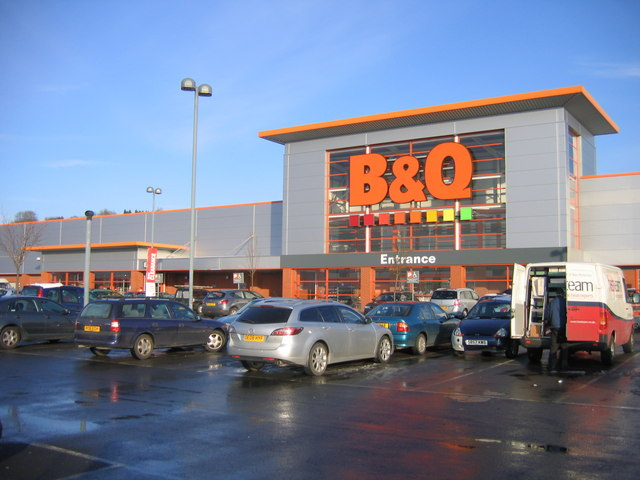 B&Q Warehouse, Halesowen.