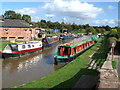 SJ5360 : Shropshire Union Canal near Tiverton, Cheshire by John Robertson